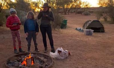 'I took my kids around Australia and left the hubby at home'