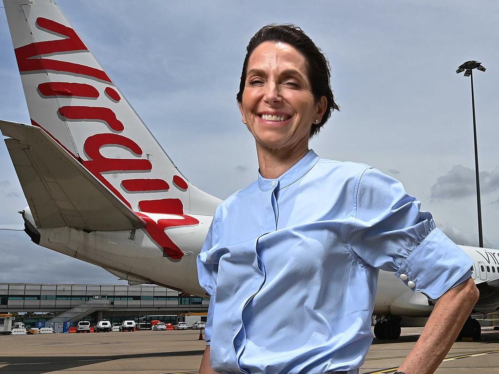Virgin Australia chief executive Jayne Hrdlicka. Picture: Lyndon Mechielsen