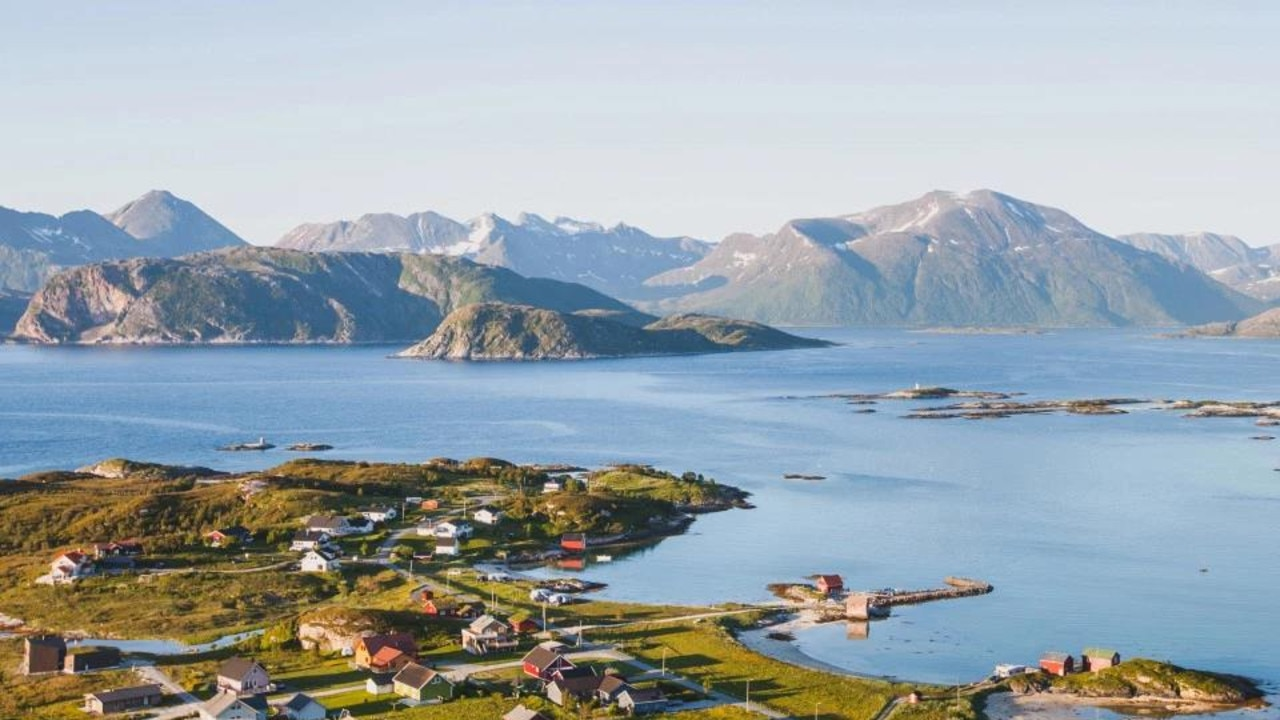 The island of Sommaroy in northern Norway has 69 days in summer when the sun doesn't set. Picture: Getty Images