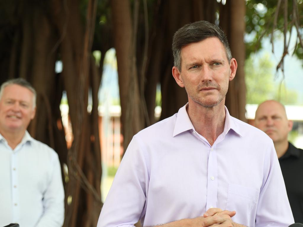 Transport minister Mark Bailey says the government understands the need to address Queensland's youth bail system. Picture: Stewart McLean