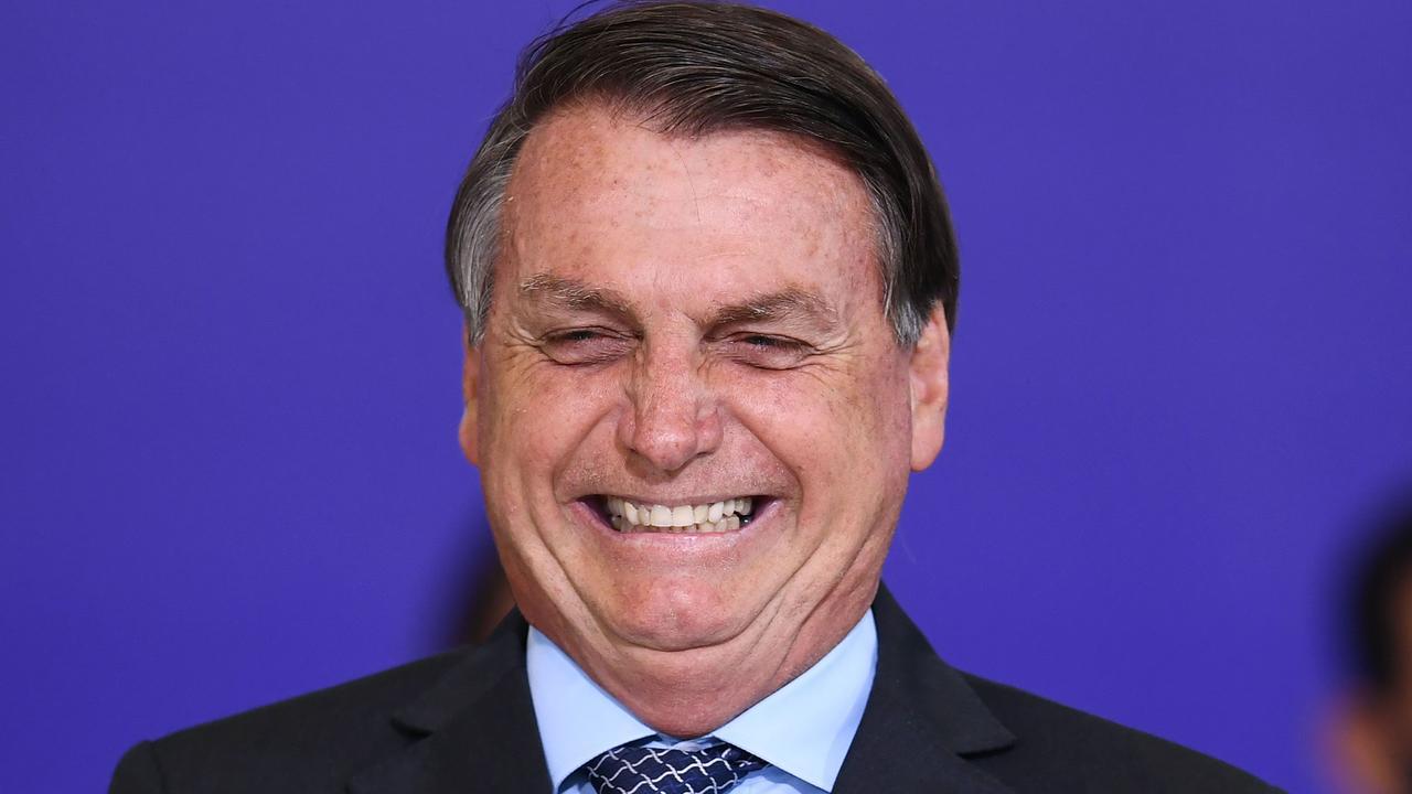 Brazilian President Jair Bolsonaro. Picture: Evaristo SA/AFP