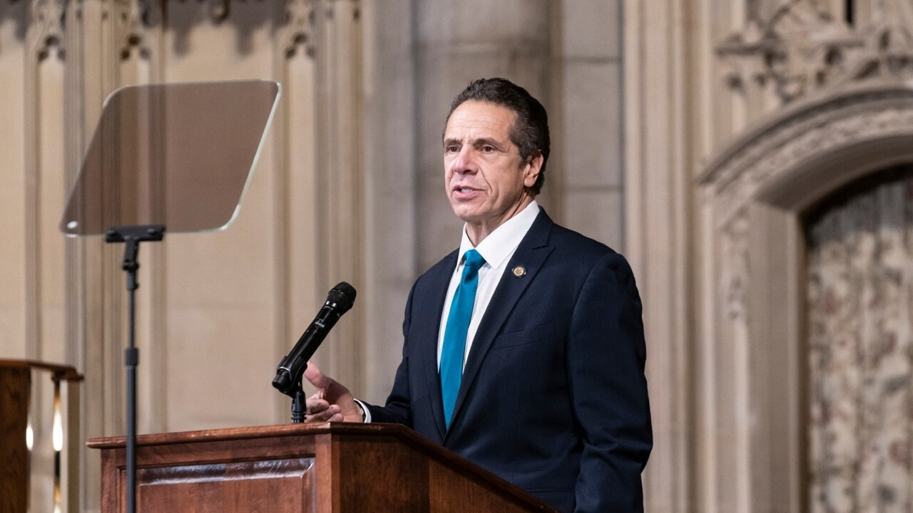 Embattled NY Governor Cuomo faces third sexual assault claim