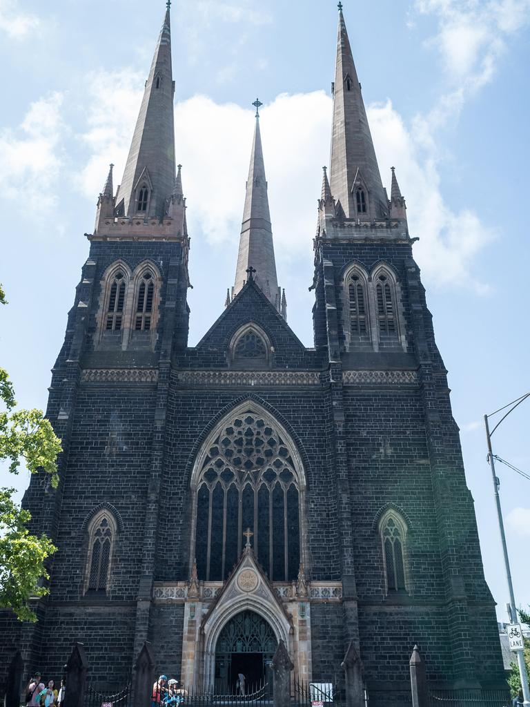 Victoria's four bishops have announced an immediate suspension of all public liturgies and mass celebrations. Picture: Jake Nowakowski