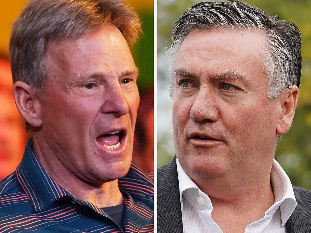 Sam Newman and Eddie McGuire agreed to disagree.