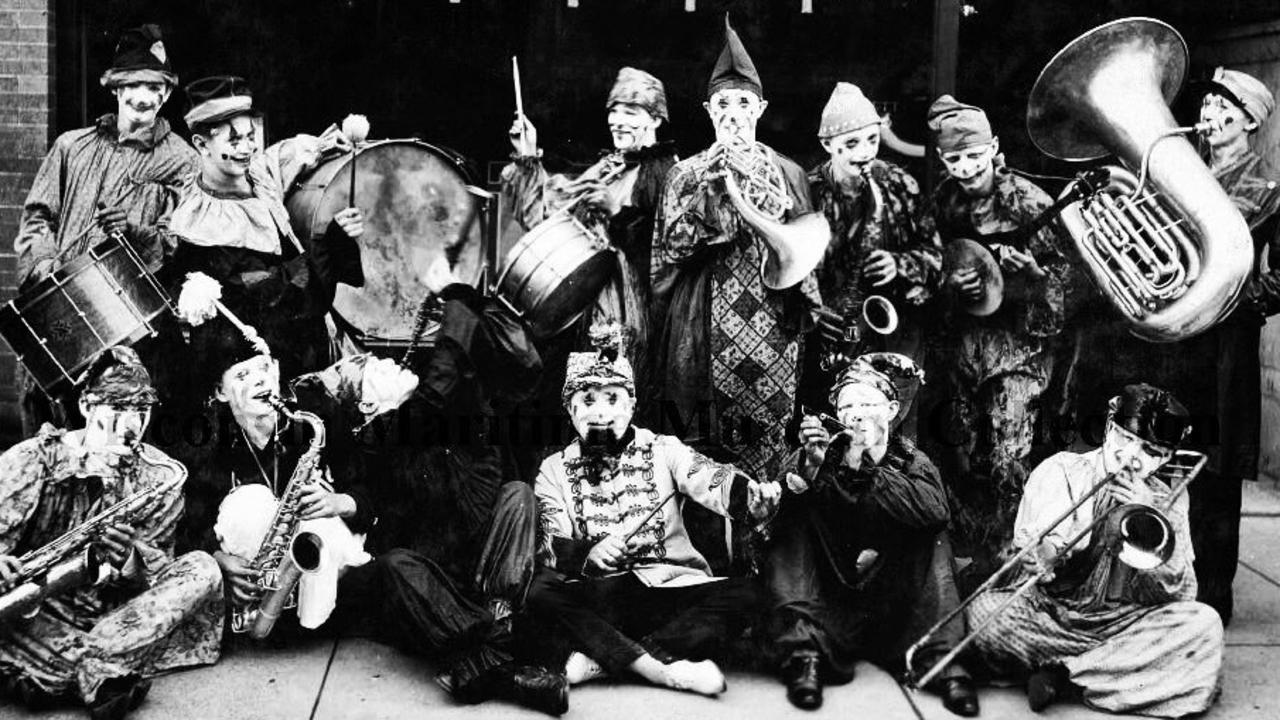 Scared of clowns? How about 13 clowns? Picture: Wisconsin Maritime Museum