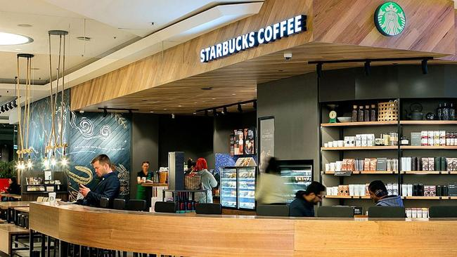 Starbucks has quietly opened this new store in Parramatta, western Sydney.