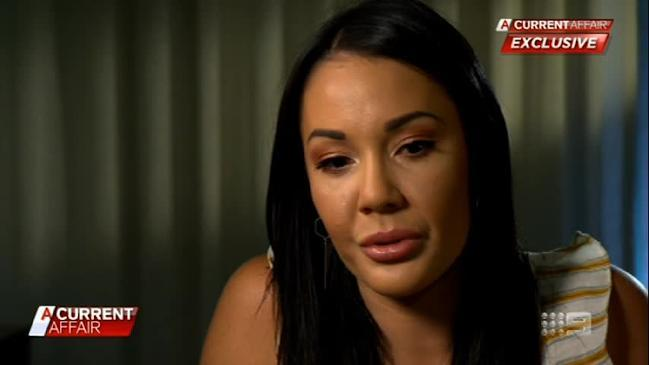 MAFS' Davina breaks down on A Current Affair discussing the flak she's received