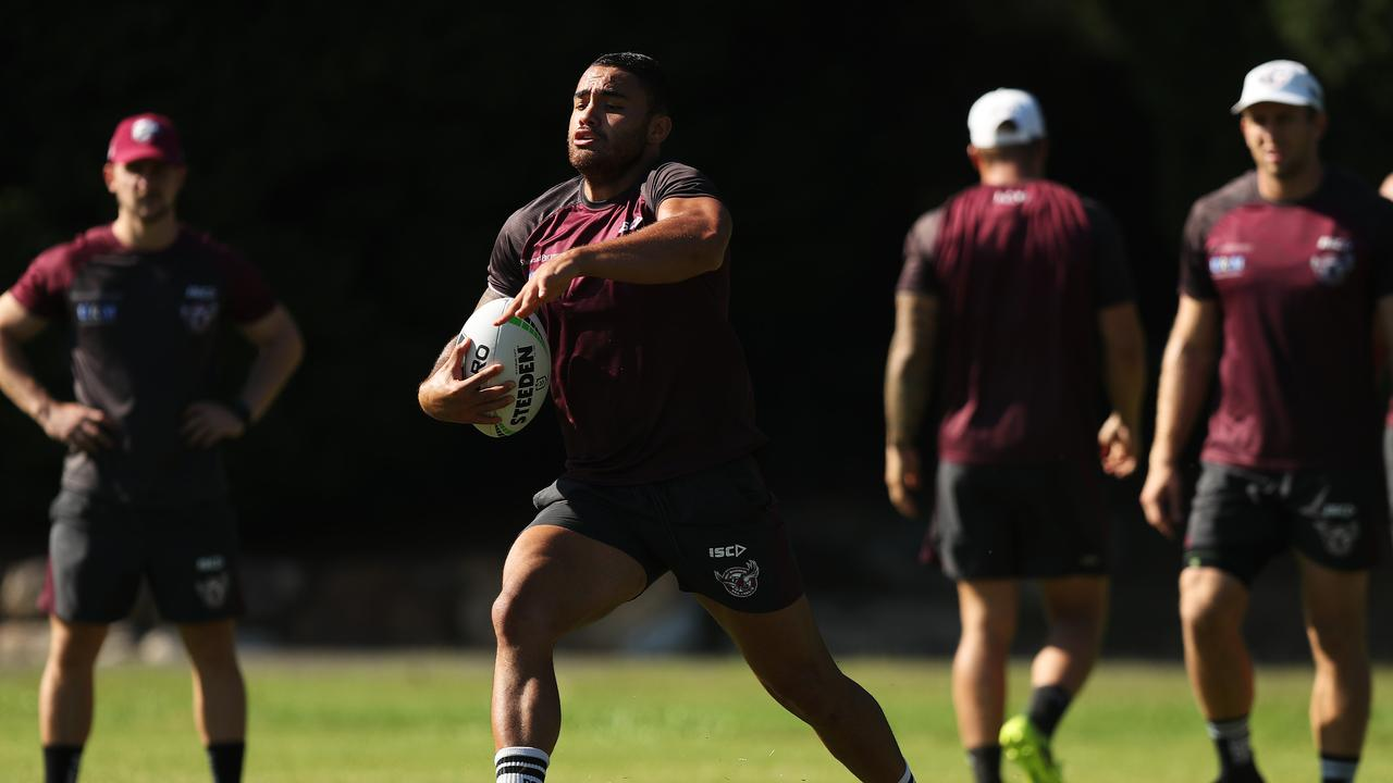 Dylan Walker has not played this season due to the NRL's 'no-fault' stand down policy.