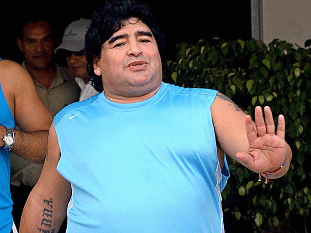 Diego Maradona was a flawed genius. Photo: AFP.