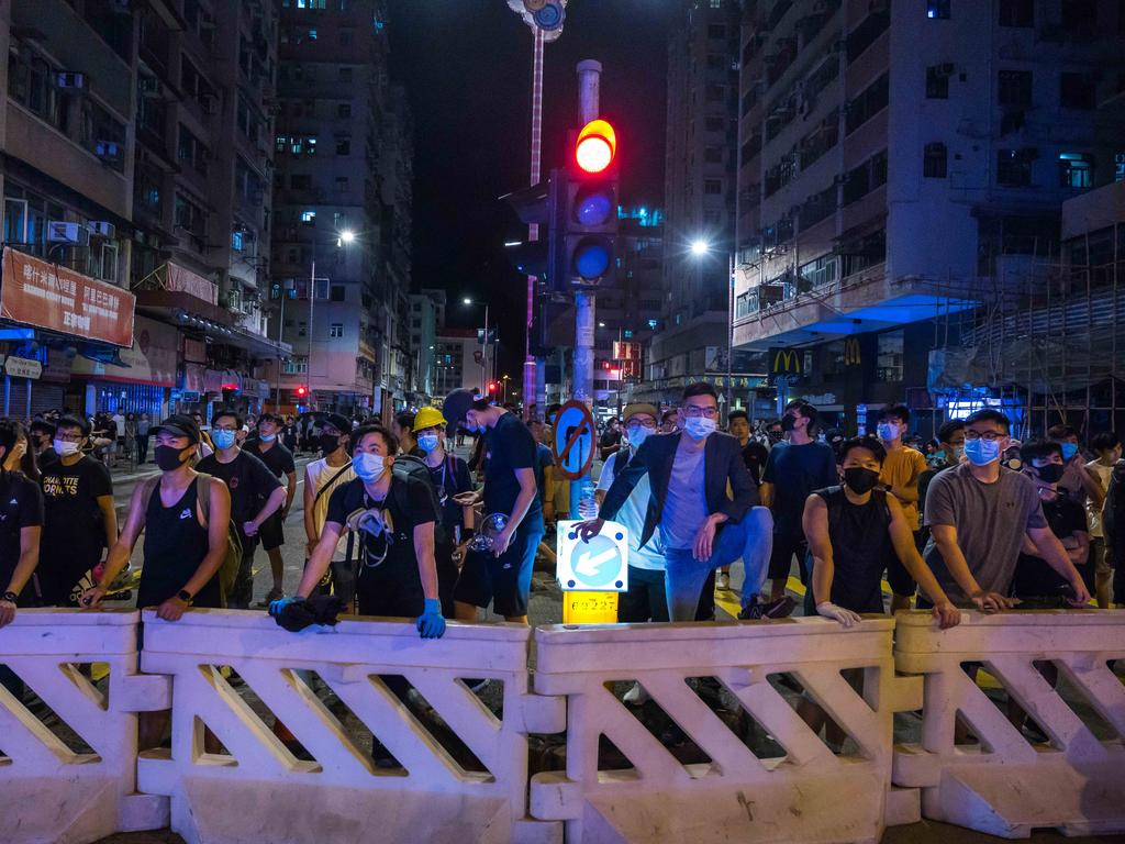 China has delivered its harshest warning yet to Hong Kong protesters. Picture: Getty Images