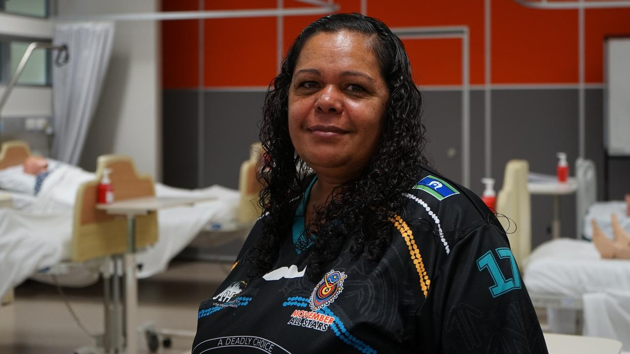 Levina Dixon became an indigenous health practitioner to help support people in her community to make healthy lifestyle choices.
