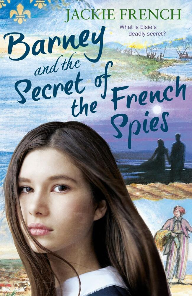 Barney and the Secret of the French Spies by Jackie French for July 2018 Kids News Book Club. Provided by HarperCollins