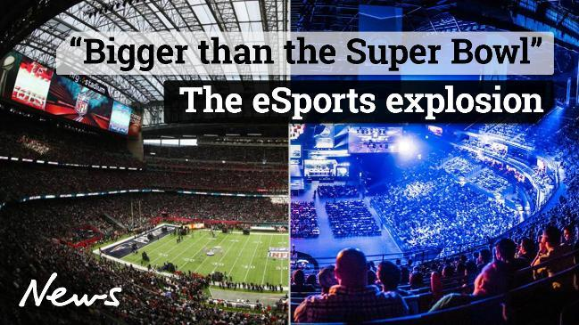 Bigger than the Super Bowl - The eSports Explosion