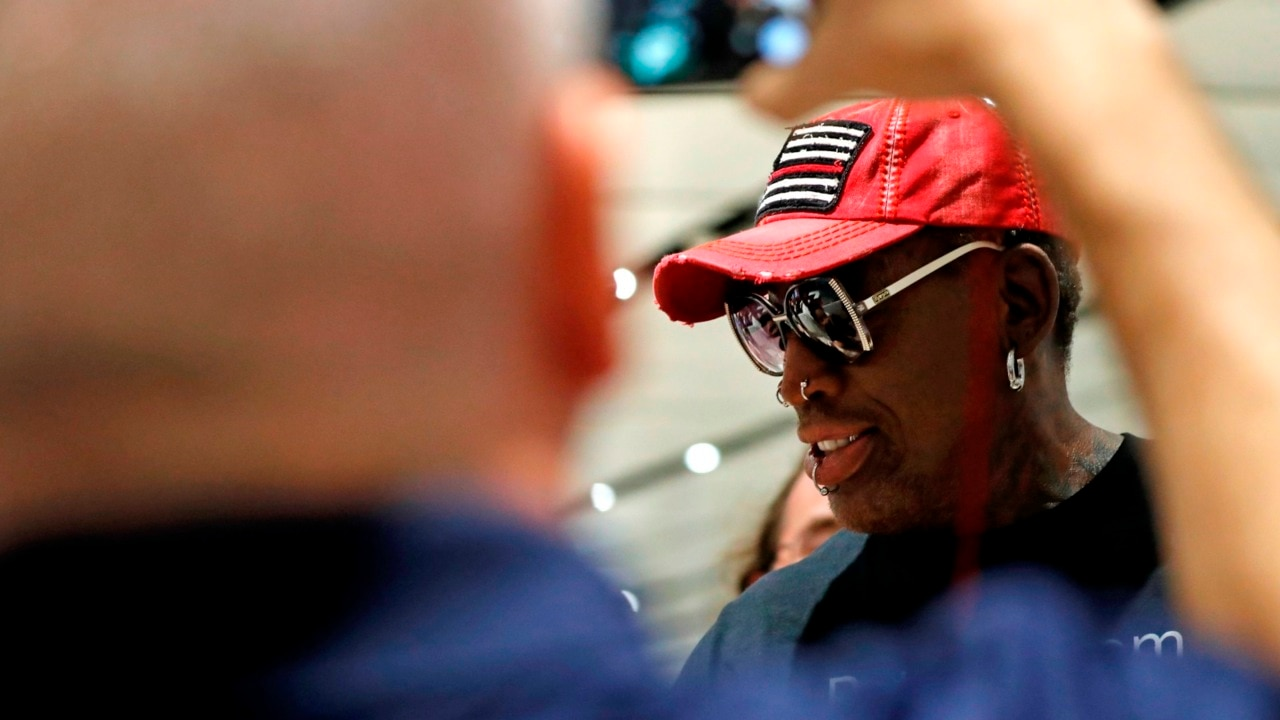 Dennis Rodman becomes emotional over Singapore summit