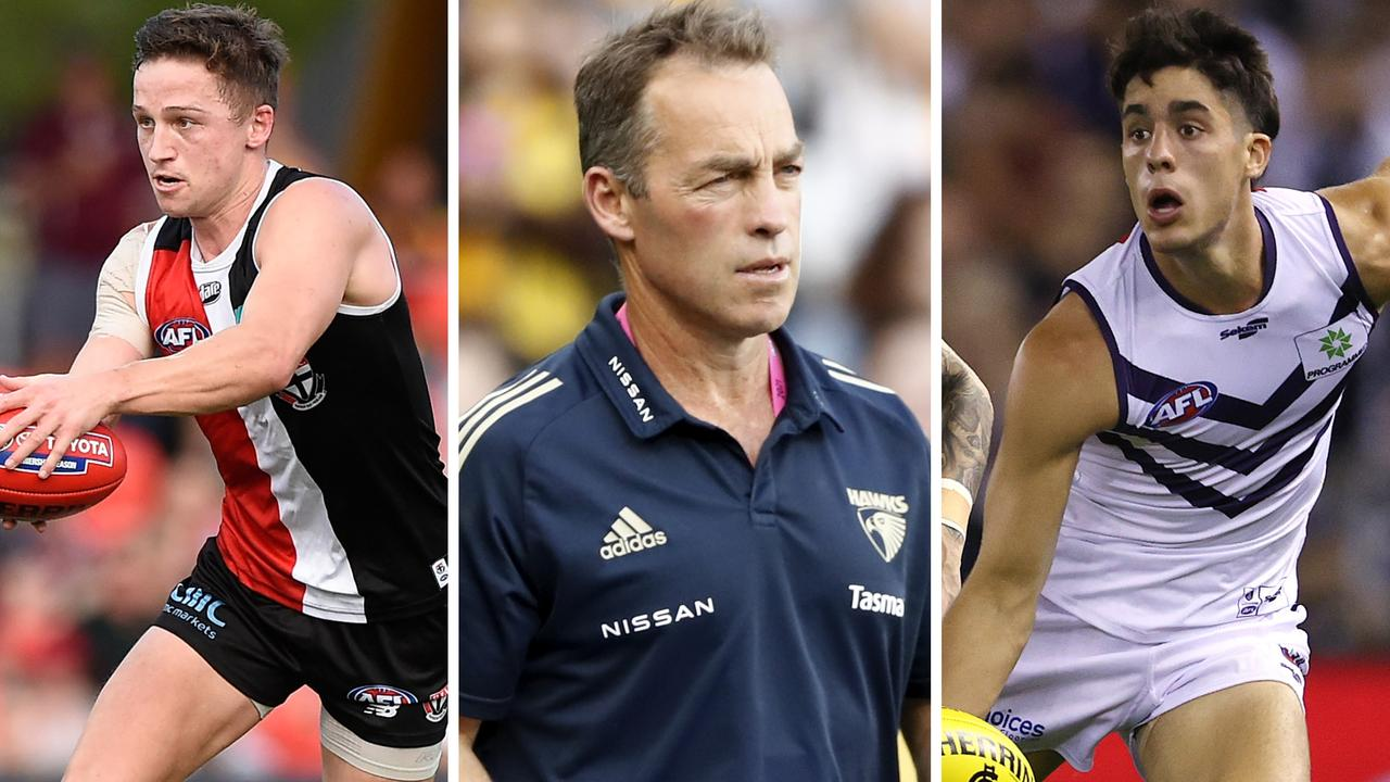 Catch up on the latest AFL trade news.