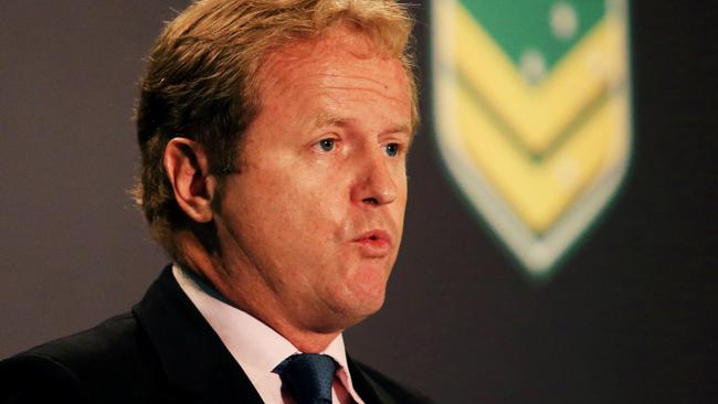 NRL CEO Dave Smith is heading towards troubled waters.