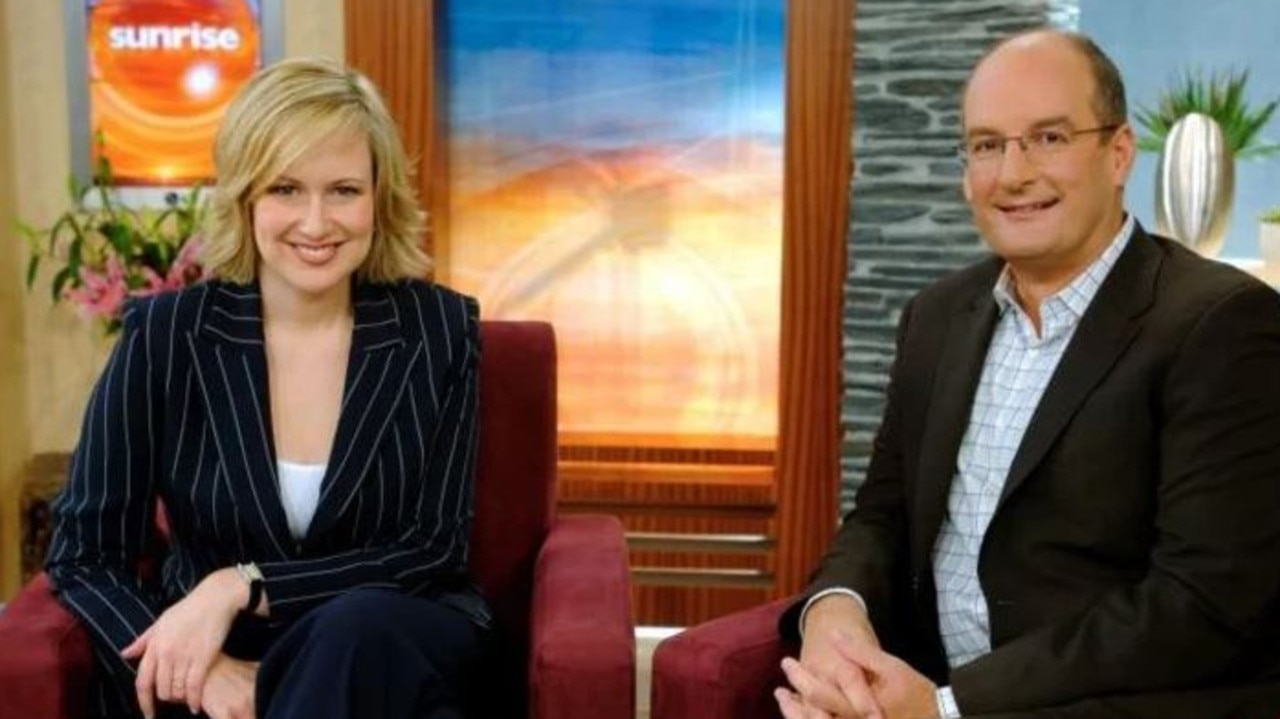 Melissa was the host of Sunrise with Kochie for 14 years. Picture: Channel 7