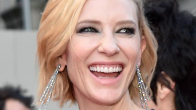 Cate Blanchett wore Louis Vuitton to the Tony Awards.
