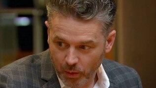 Jock is devastated for Minoli. Picture: Channel 10