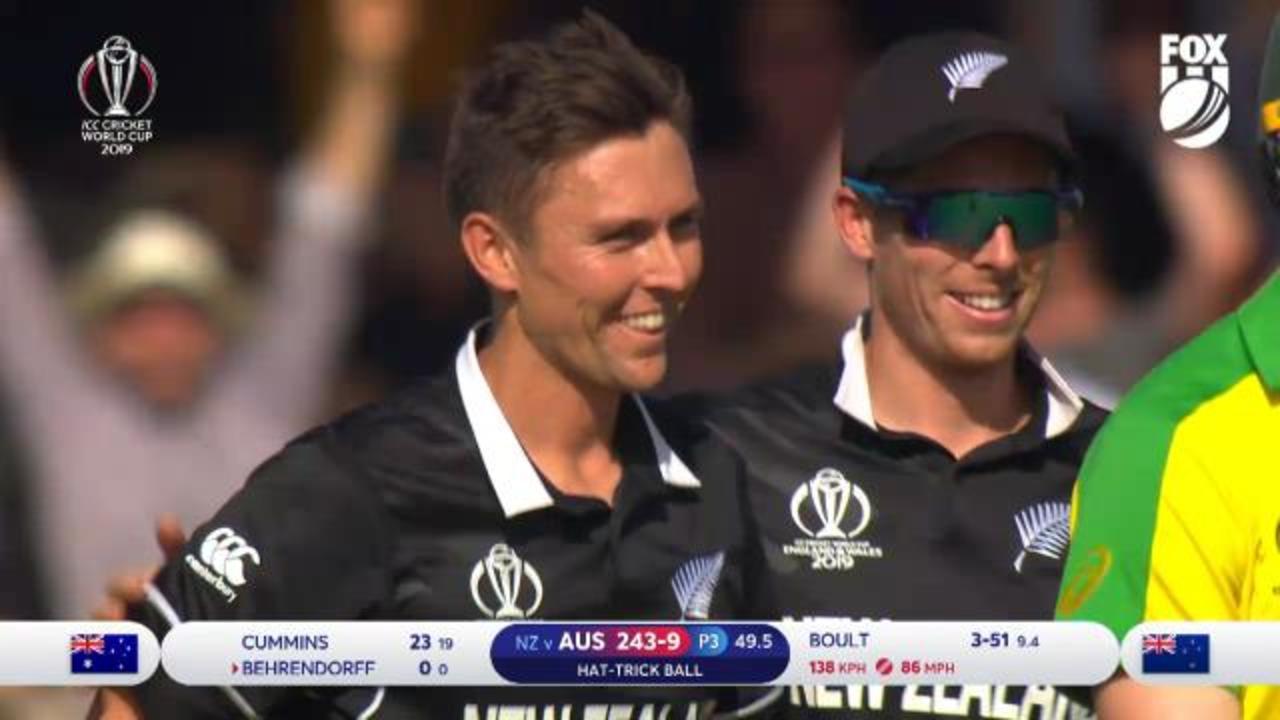 Boult hat-trick stuns Aussies