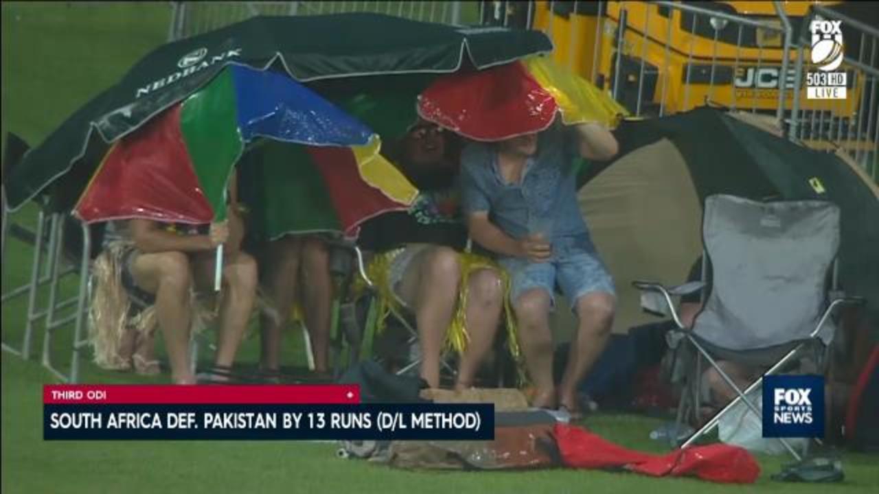 Rain delivers delivers SA win