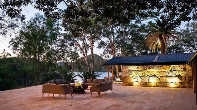 7/15YOU CAN BLISS OUT ON THE RIVERThough positioned on the Hawkesbury River, NSW's newest luxury lodge Marramarra Lodge is actually accessed by private boat from Mooney Mooney - aka the gateway to the Central Coast. Nestled in native bushland and surrounded by the Hawkesbury, the adults-only accommodation is split between luxe tents or bungalows and caters to a max of 28 guests. Handily it's also all-inclusive - from the minibar and gourmet meals, through to matching wines and activities - which means there's no unexpected, hefty bill waiting for you upon check out. Private, beautiful, and immersed in breathtaking nature, you can disconnect and recharge via sunset cruises, leisurely hikes, SUP or kayak, or by simply whiling away the day in the comfort of a lounger by the open-air swimming pool, or indulging in a treatment at the onsite spa. Bliss. Picture: Instagram/@marramarralodge