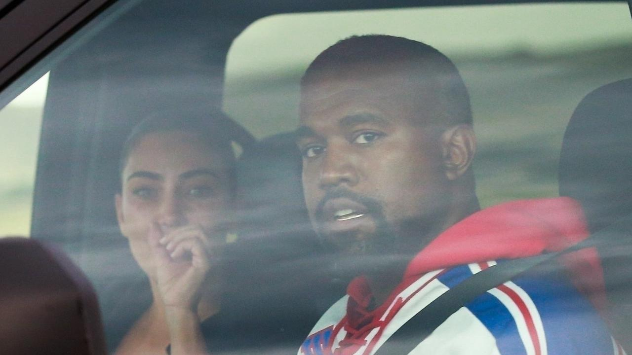 The pair had a tense meeting inside a car after a difficult few weeks. Picture: CPR/DSanchez / BACKGRID