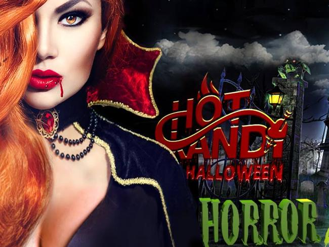 The Horror Mansion Halloween Party flyer. Picture: Facebook.