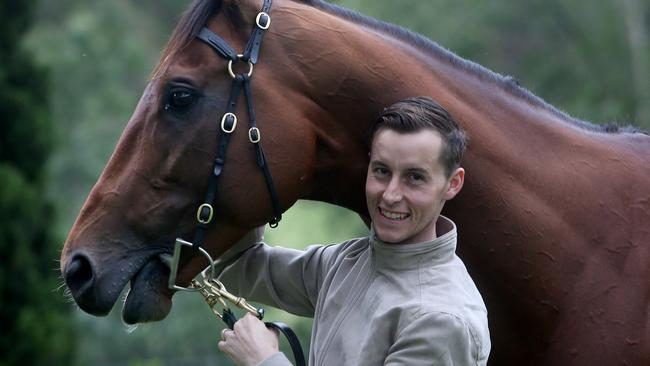 Jockey Cory Parish will ride Boom Time in the Japan Cup on Sunday. Picture: David Geraghty
