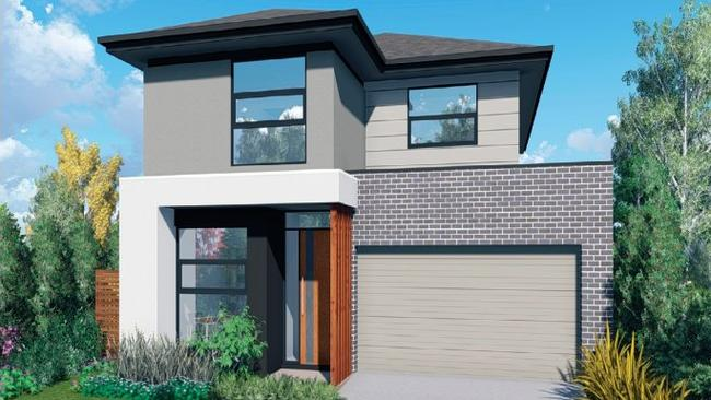The 'Maddox' is one of many house and land packages available.