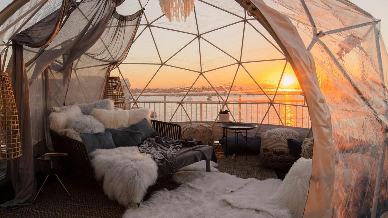 The Dream Igloo Suite at Pier One Sydney Harbour.
