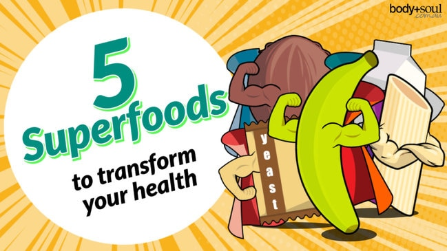 5 Superfoods to transform your health