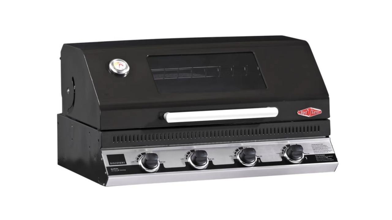 Beefeater Discovery 1100E Built-In BBQ. Image: Bing Lee.