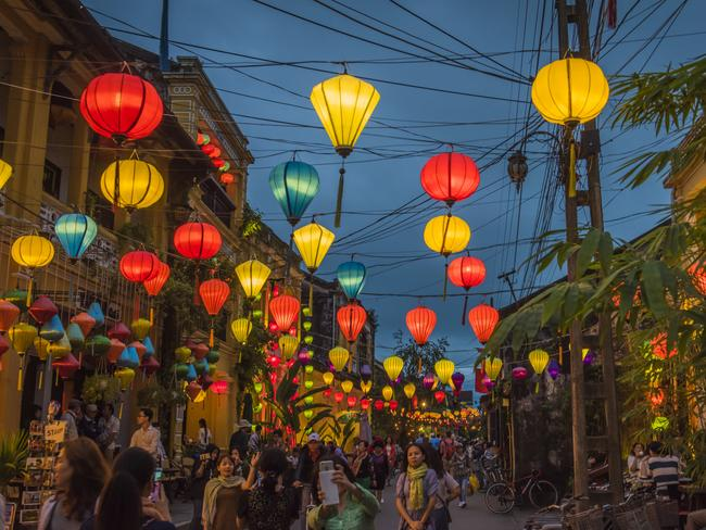 """6. CENTRAL VIETNAM """"Hue's vibrant cuisine showcases the city's imperial legacy, while south in Hoi An's storied laneways, local dishes include fragrant cao lầu noodles. Seafood stars in nearby Danang, and the city alongside the Han River is becoming one of Vietnam's most exciting urban destinations."""""""