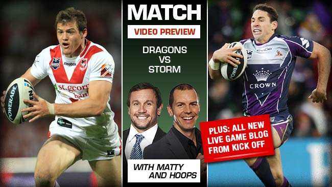 League Central: Round 21 – Dragons v Storm