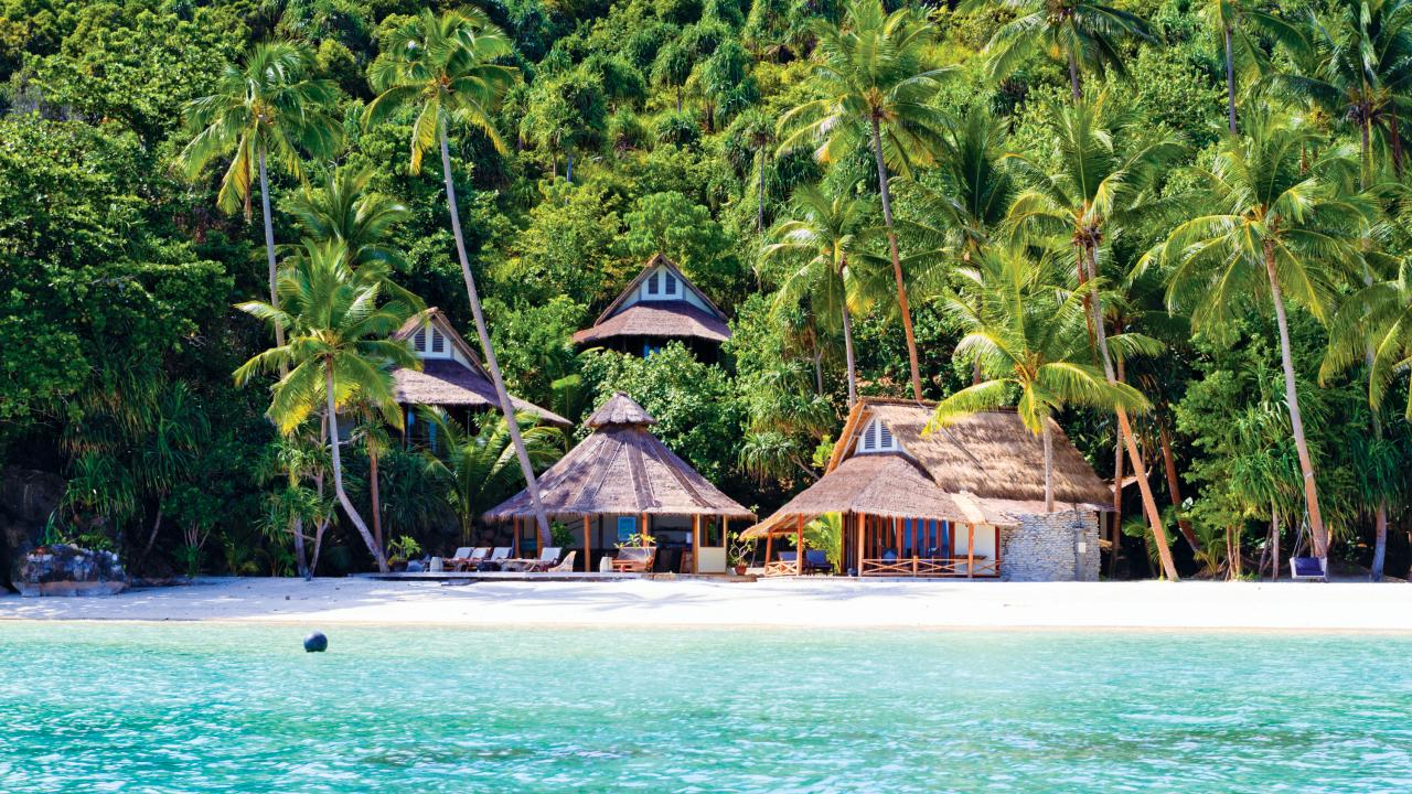 Misool Eco Resort was created to support conservation. Picture: Ed Brown/Alamy