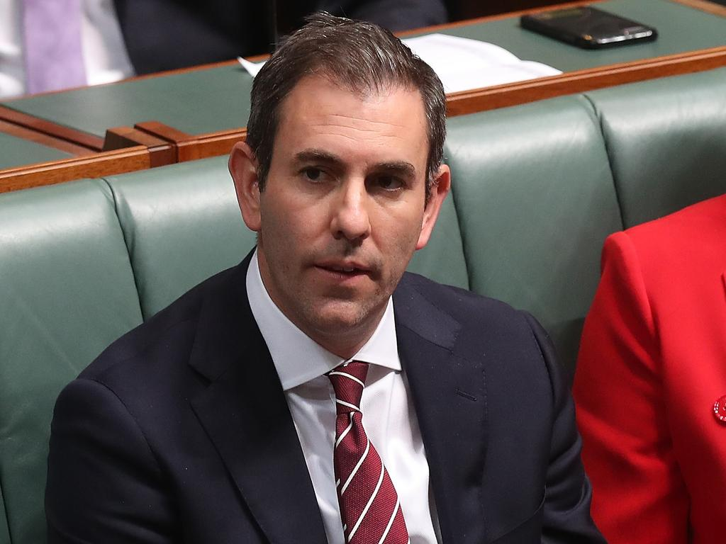 Jim Chalmers has failed in his bid to pass amendments to the government's tax cuts plan. Picture: Kym Smith