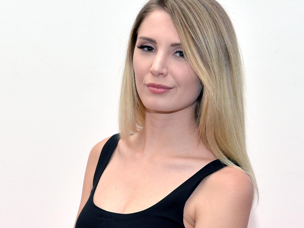 Lauren Southern is set to speak in Melbourne. Picture: AAP