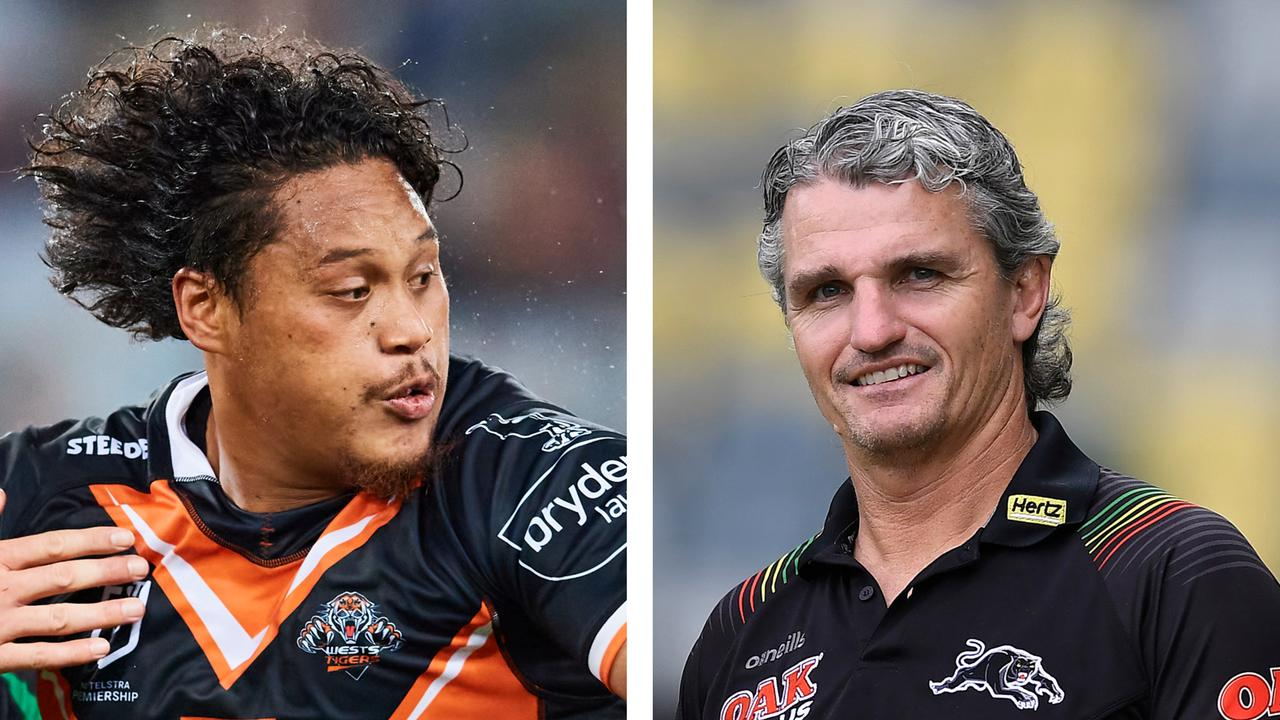 Luciano Leilua and Ivan Cleary
