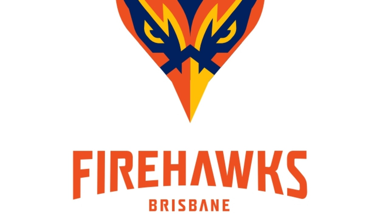 The logo for the Brisbane Firehawks expansion franchise hoping for admission into the NRL. Pictures: Supplied