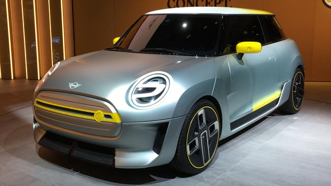 A Mini EV is tipped to arrive in two years. Picture: Joshua Dowling.