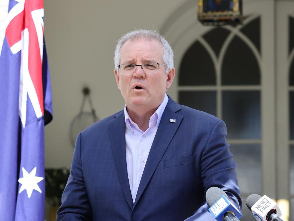Prime Minister Scott Morrison. Picture: NCA NewsWire / Dylan Coker