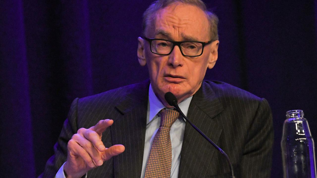 Former NSW Premier, Bob Carr told the Western Sydney Leadership Dialogue's Out There Summit in Bankstown that foreign investment in property was only set to continue. Picture: Simon Bullard/AAP
