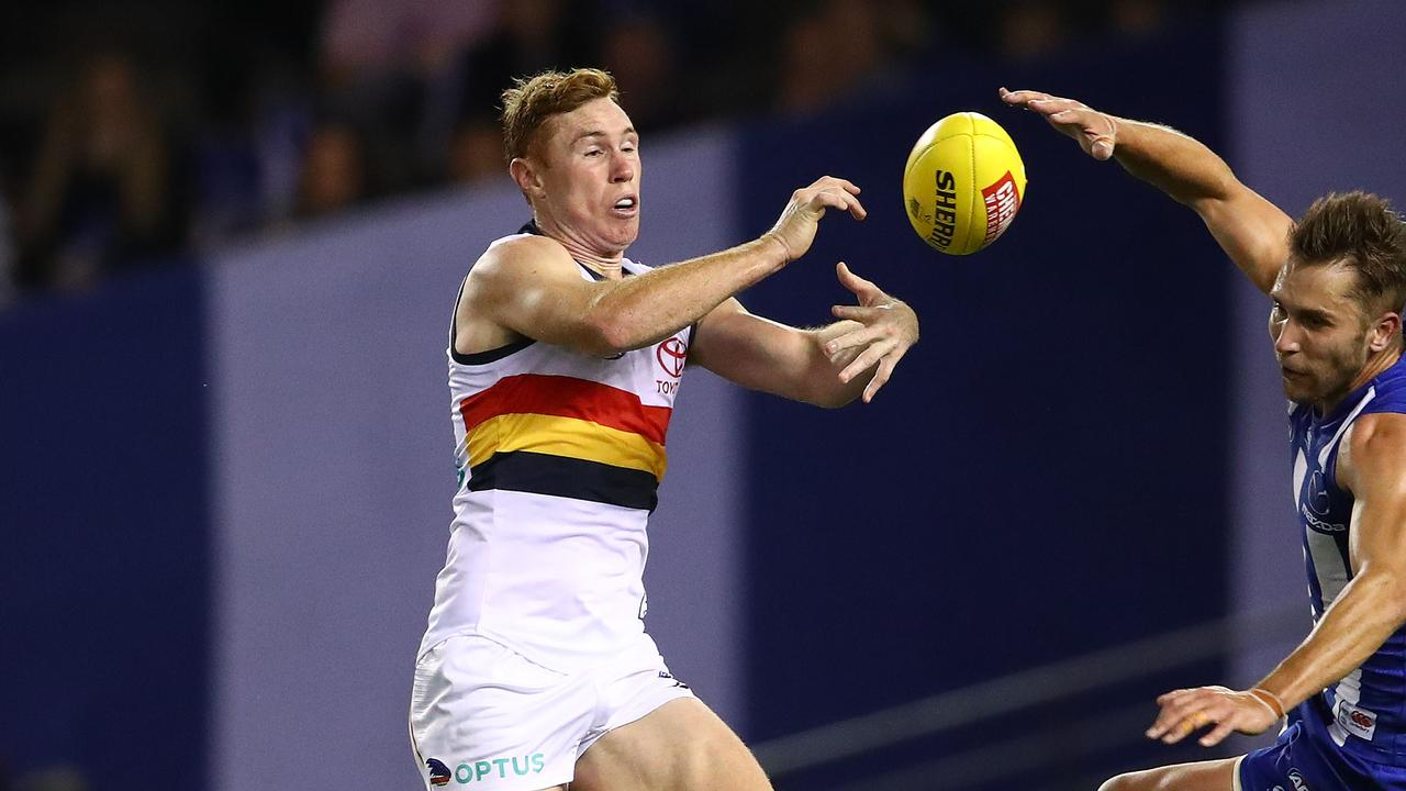 Adelaide's Tom Lynch won't face West Coast due to injury.