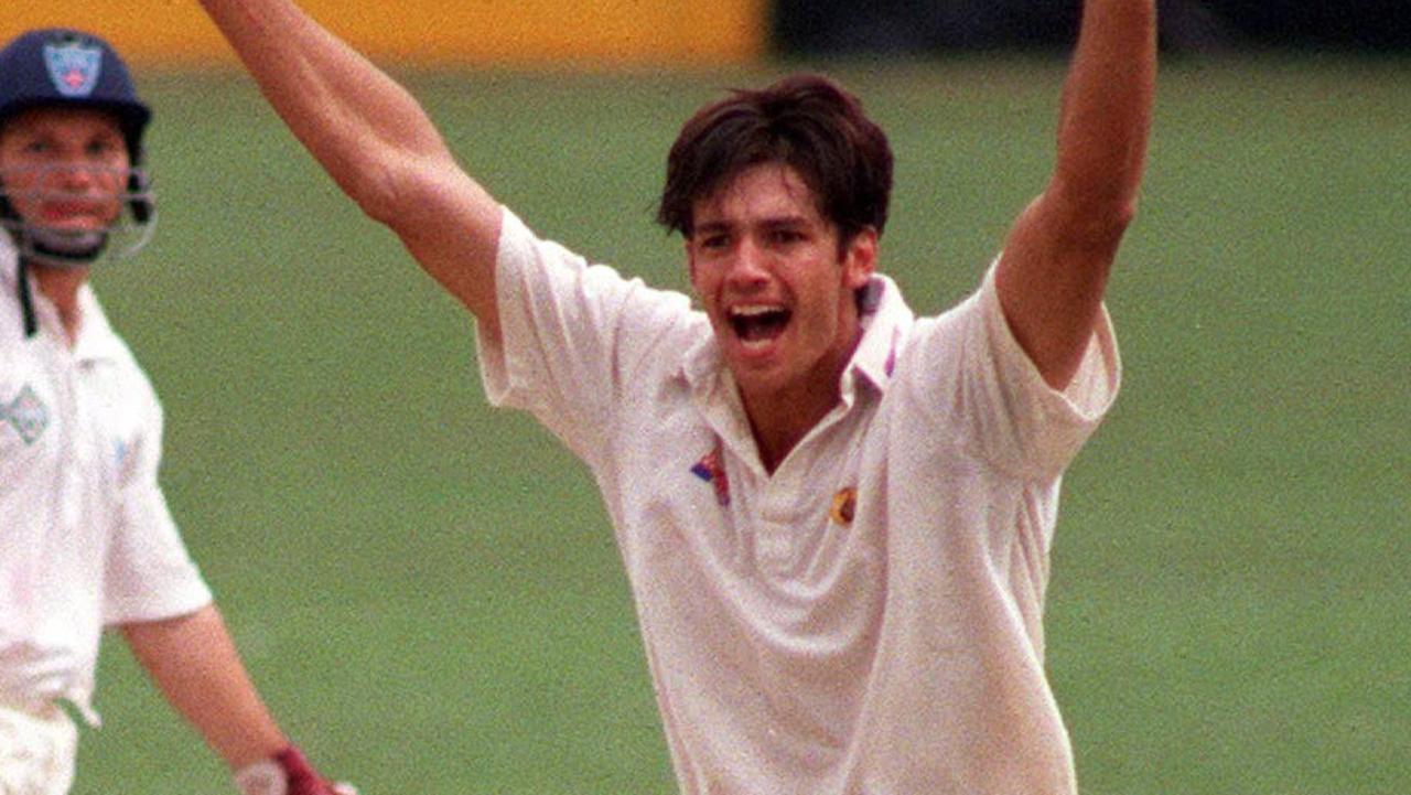 Brendon Julian in action in 1996.