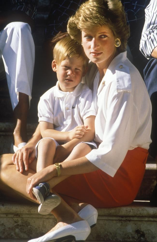 The duke said that what stopped his wife from giving in to suicidal thoughts was how 'unfair' it would be to him after the death of his mum Princess Diana in 1997. Picture: Getty Images