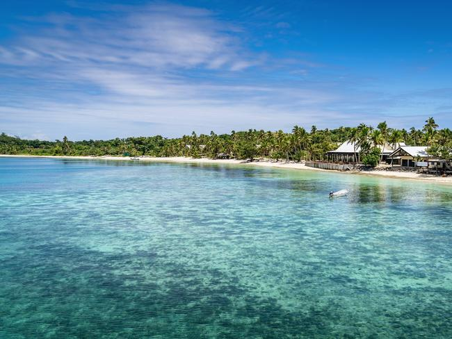 MANA ISLAND A popular island in the heart of the Mamanucas, the American edition of Survivor was filmed on its shores. Go kayaking, windsurfing, diving — or just sit back and enjoy the beautiful island 30km west of Nadi, and worlds away from reality.