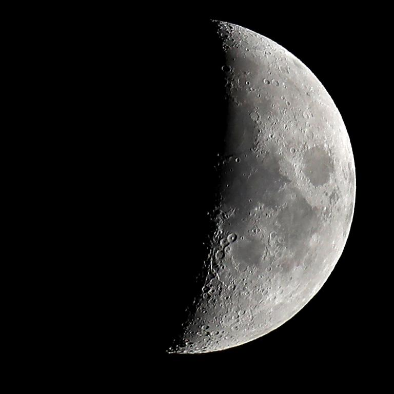 NASA has plans to build a base on the moon by the end of the decade. Picture: Chris Jackson/Getty Images