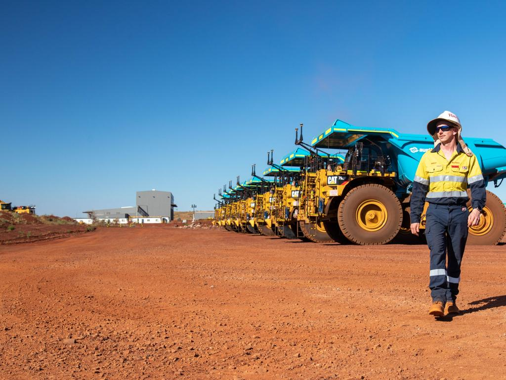 Tens of thousands of workers in Western Australia's resources sector will need to be fully vaccinated against Covid-19. Picture: Supplied via Rio Tinto