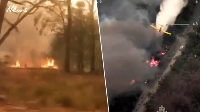 Watch: Firefighters continue to battle blazes in New South Wales